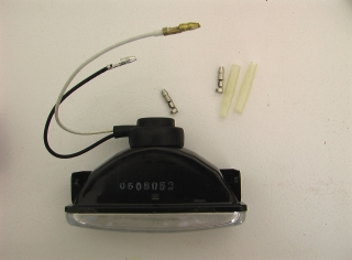Fog Light and Connector