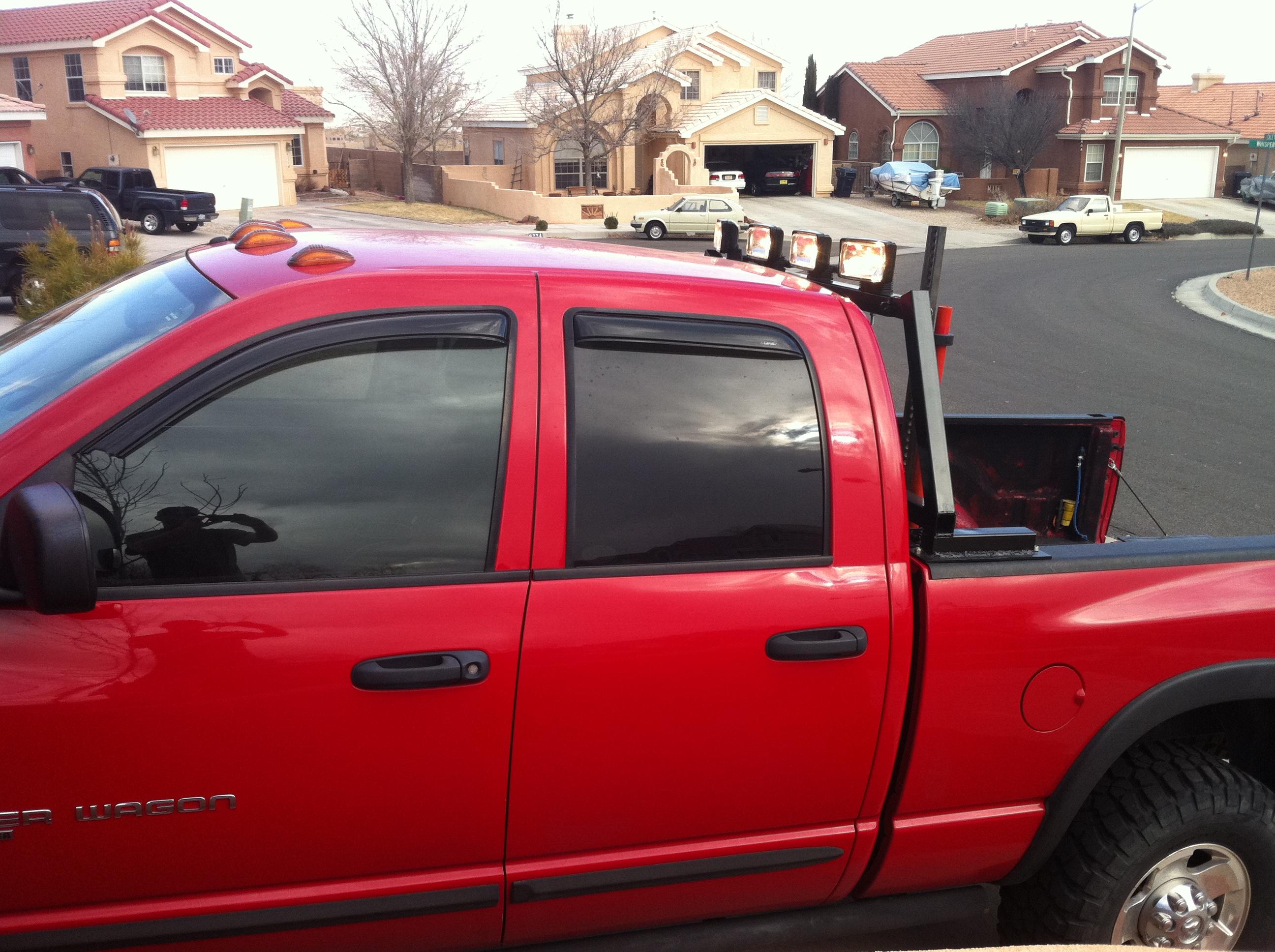 Pcwize Com Truckhacks Rotating Headache Rack Lightbar